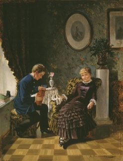 The Debut | Mikhail Malyshev | Oil Painting