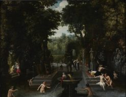 Bathers | David Vinckboons | Oil Painting