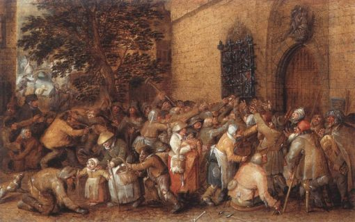 Distribution of Loaves to the Poor | David Vinckboons | Oil Painting