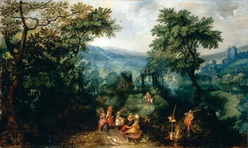 Extensive Landscape | David Vinckboons | Oil Painting