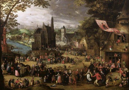 The Grand Fair | David Vinckboons | Oil Painting