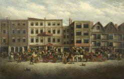 The Bush Inn   John Charles Maggs   Oil Painting