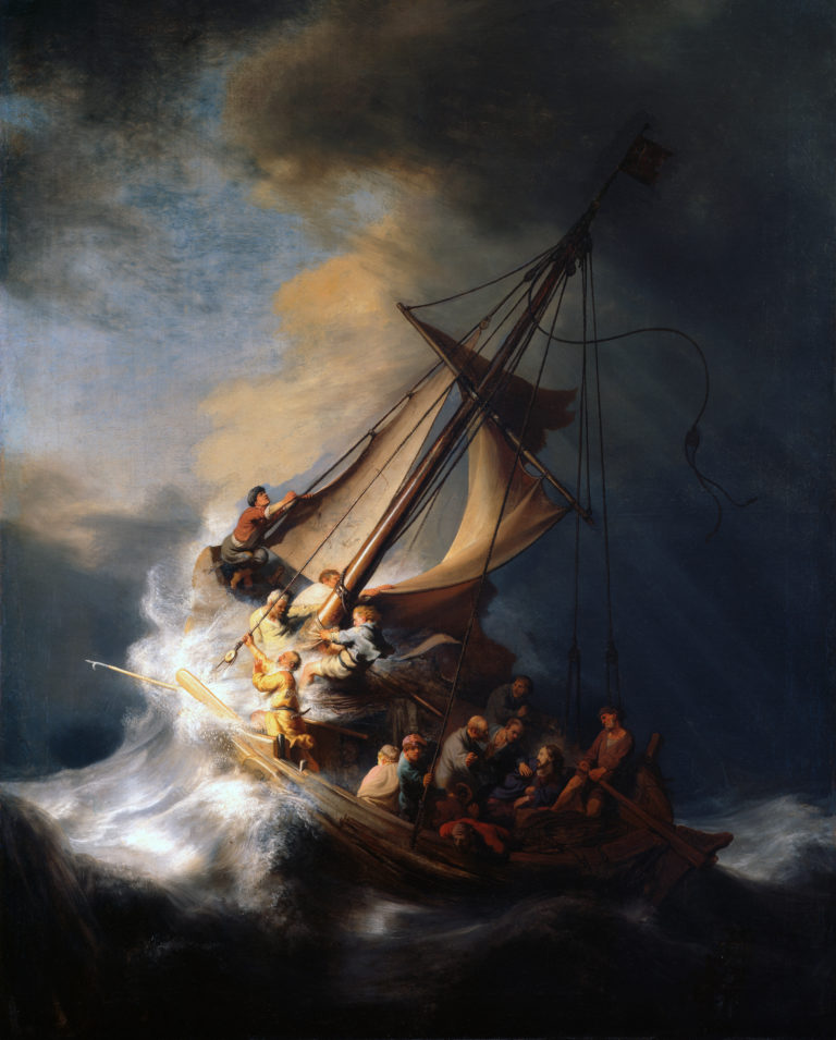 The Storm on the Sea of Galilee | Rembrandt Harmensz Van Rijn | Oil Painting