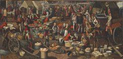 A Market Scene | Pieter Aertsen | Oil Painting