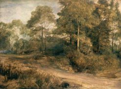 A Wooded Landscape | David Wilkie | Oil Painting