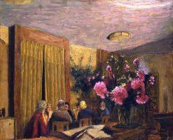 La partie de cartes | Edouard Vuillard | Oil Painting