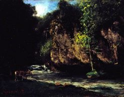 The Stream | Gustave Courbet | Oil Painting