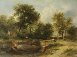 Loch Scene | James Stark | Oil Painting