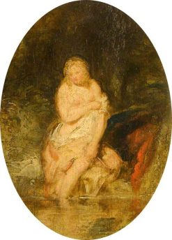 Nude Bather (after Peter Paul Rubens) | John Phillip | Oil Painting