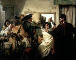 La loteria nacional | John Phillip | Oil Painting