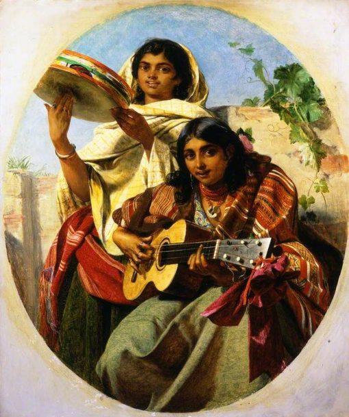 Gypsy Musicians of Spain (Spanish Minstrels) | John Phillip | Oil Painting