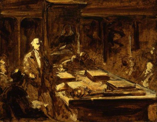 Study: At the House of Commons | John Phillip | Oil Painting