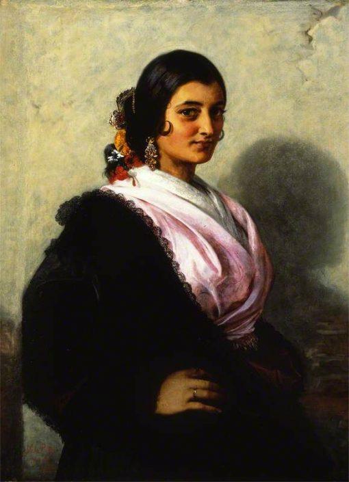 La perla de Triana | John Phillip | Oil Painting