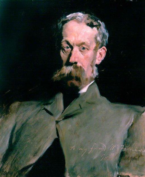 Dr Robert Farquharson of Finzean   John Singer Sargent   Oil Painting