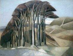 Wood on the Downs | Paul Nash | Oil Painting