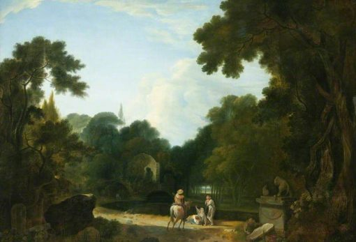 Ruin in a Clearing | Richard Wilson