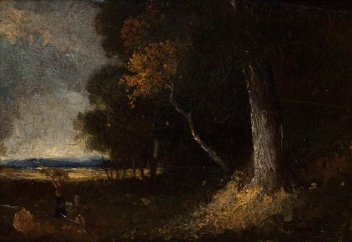 Wooded Landscape with Figures | John Crome | Oil Painting