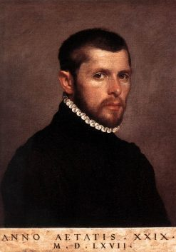 Portrait of a Man | Giovanni Battista Moroni | Oil Painting