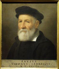 Ritratto di Paolo Vidono Cedrelli | Giovanni Battista Moroni | Oil Painting