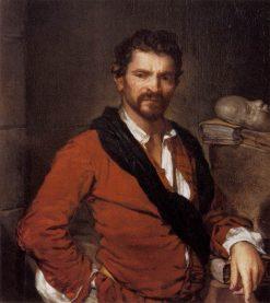 Portrait of Francesco Maria Bruntino | Giuseppe Ghislandi | Oil Painting
