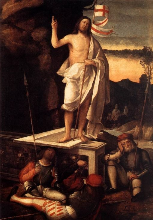 The Resurrection of Christ | Marco Basaiti | Oil Painting