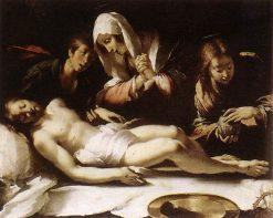 Lamentation over the Dead Christ | Bernardo Strozzi | Oil Painting