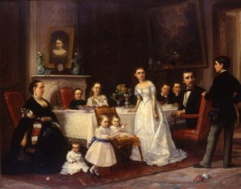 The Family | George Henry Story | Oil Painting