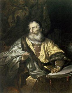 King David Writing Psalms | Govaert Flinck | Oil Painting