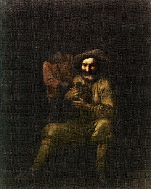 A Peasant Holding a Wine Jug | Michiel Sweerts | Oil Painting
