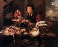 The Fishmonger | Abraham van Beyeren | Oil Painting