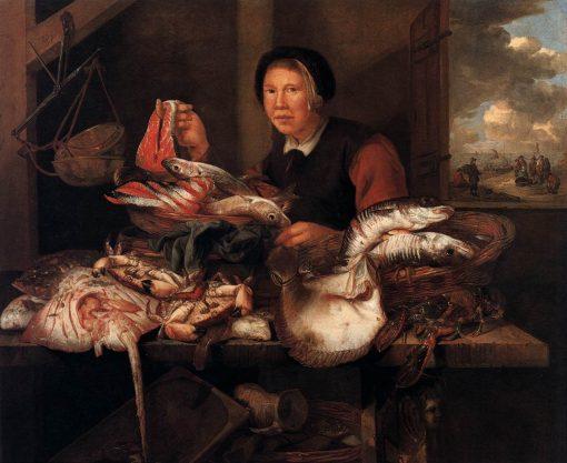 The Fishmonger | Abraham van Beyeren | Oil Painting