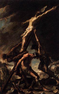 Raising of the Cross | Alessandro Magnasco | Oil Painting