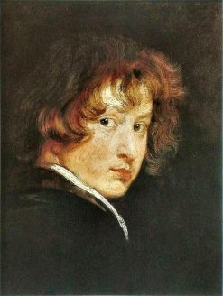 Self-Portrait at Age Sixteen (?) | Anthony van Dyck | Oil Painting