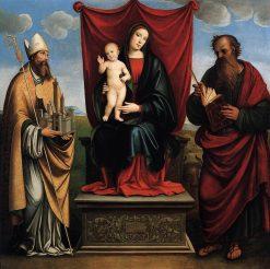 Sacra Conversazione | Francesco Francia | Oil Painting