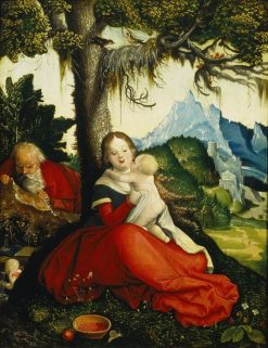 The Holy Family | Hans Baldung | Oil Painting
