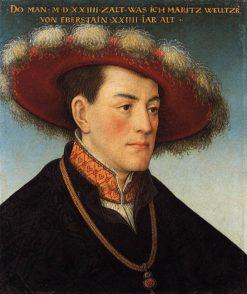 Moritz Weltzer von Eberstein | Hans Maler zu Schwaz | Oil Painting
