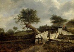Landscape | Jacob van Ruisdael | Oil Painting