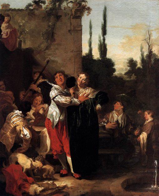 The Prodigal Son | Johann Liss | Oil Painting