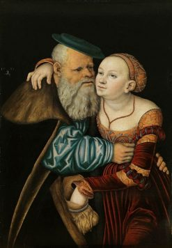 Elderly Couple | Lucas Cranach the Elder | Oil Painting