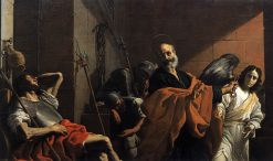 Release of Saint Peter from Prison | Mattia Preti | Oil Painting
