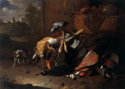 Game Piece | Melchior d'Hondecoeter | Oil Painting