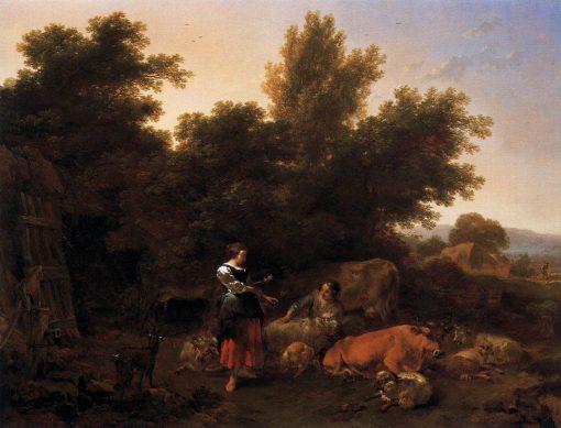 Pastoral Scene | Nicolaes Berchem | Oil Painting