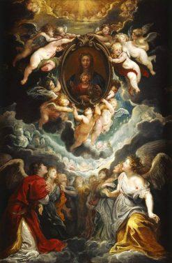 Madonna Vallicella (Modello for the High Altar of Sta. Maria in Valicella