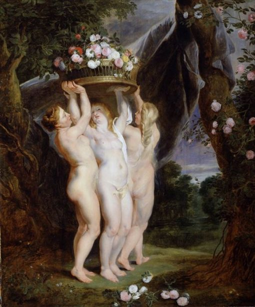 The Three Graces | Peter Paul Rubens | Oil Painting