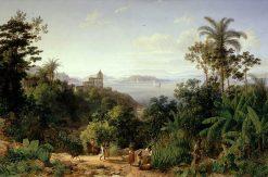 View of Rio de Janeiro | Thomas Ender | Oil Painting
