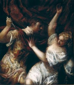 Tarquin and Lucretia | Titian | Oil Painting