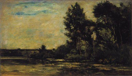 River Scene | Charles Francois Daubigny | Oil Painting