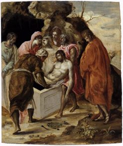 The Entombment of Christ | El Greco | Oil Painting