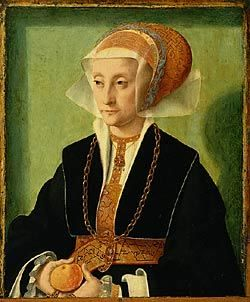 Portrait of a Lady | Bartholomaeus Bruyn the Elder | Oil Painting