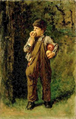 Back from the Orchard | Eastman Johnson | Oil Painting